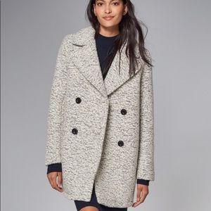 Jackets & Blazers - Abercrombie and Fitch wool blend pea coat